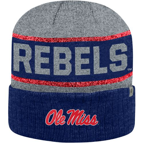 Top of the World Men's University of Mississippi Below Zero Cuff Knit Hat