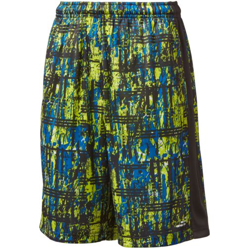 BCG Boys' Plaid Splatter Turbo Shorts