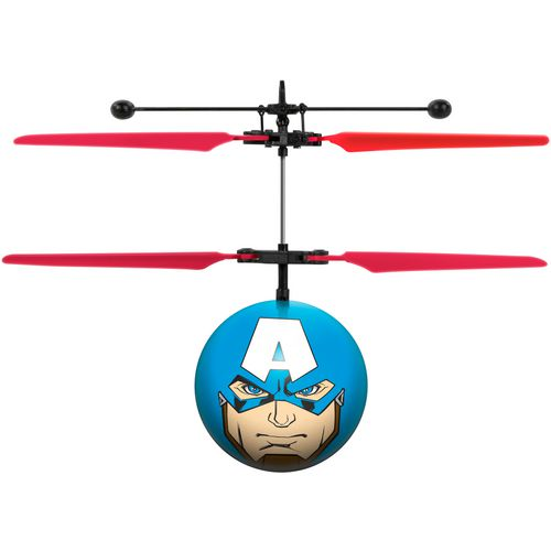 World Tech Toys Marvel Avengers Captain America IR UFO Ball Helicopter - view number 1