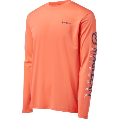 Magellan Outdoors Men's Casting Long Sleeve Crew Shirt