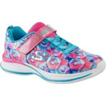 SKECHERS Girls' Jumpin' Jams Training Shoes - view number 2