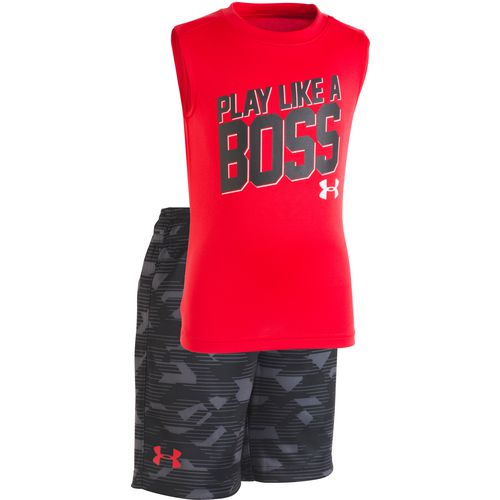 Under Armour Toddler Boys' Edge Camo Boss Tank Top and Shorts Set