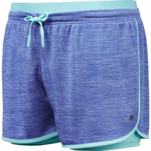 Layer 8 Girls' 2-Fer Knit Shorts