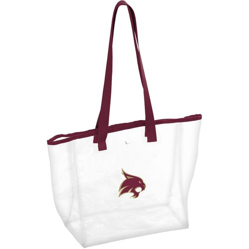 Logo Texas State University Clear Tote Bag
