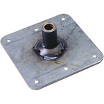 "Attwood® Lock'N-Pin 7"" x 7"" Base Plate"