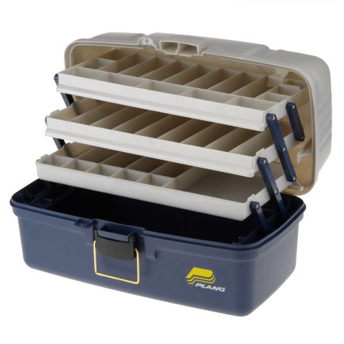 Plano large 3 tray tackle box academy for Large tackle boxes for fishing