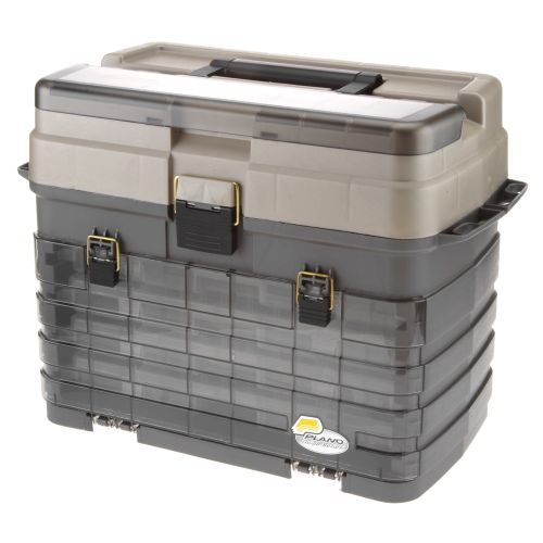 Plano guide series stowaway system tackle box academy for Large tackle boxes for fishing