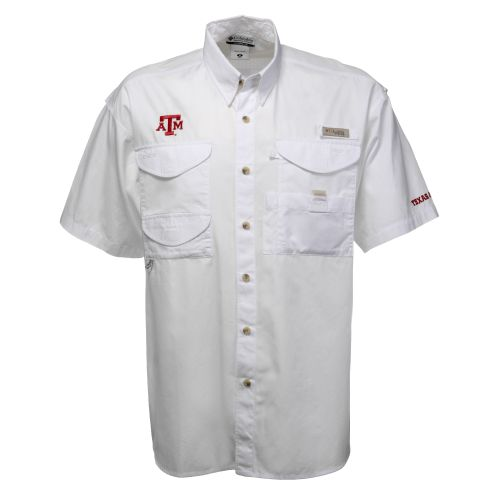 Columbia Sportswear Men's Collegiate Bonehead™ Texas A&M Short Sleeve Shirt