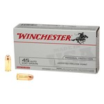 Winchester USA JHP .45 Automatic 230-Grain Handgun Ammunition