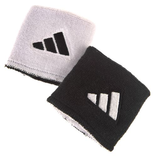 adidas™ Interval Reversible Wristbands
