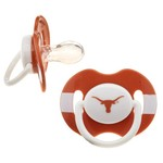 Baby Fanatic NCAA Pacifiers 2-Pack