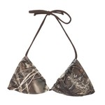 Realtree Junior's MAX-4 Triangle Slider Swim Top