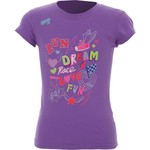 Soffe Girls' Short Sleeve Tissue T-shirt