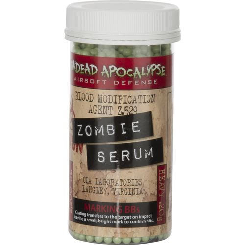 Crosman Undead Apocalypse Zombie Serum 6mm Marking BBs 2 200-Count