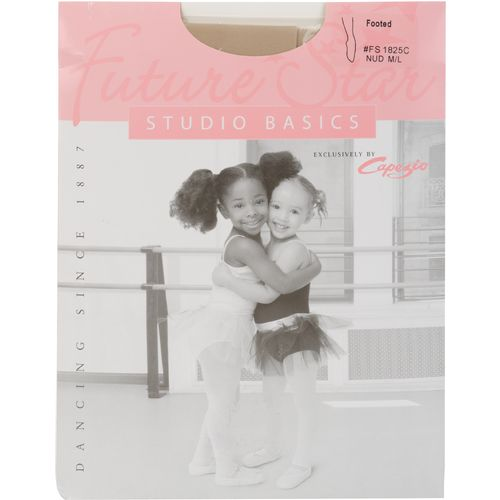 Display product reviews for Capezio Girls' Future Star Basics Footed Tights