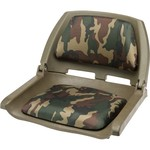 Marine Raider Woodland Camo Padded Fold Down Boat Seat - view number 1