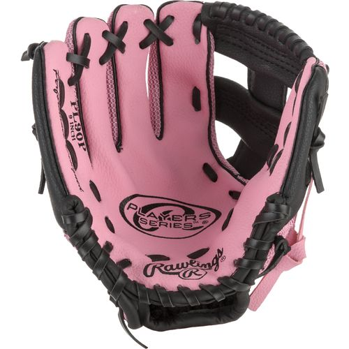 Rawlings  Youth Players Series 9  T-ball Pitcher/Infield/Outfield Glove Left-handed with Ba