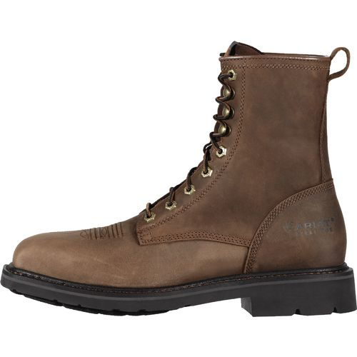 "Ariat Men's Cascade 8"" Wide Square Toe Work Boots"