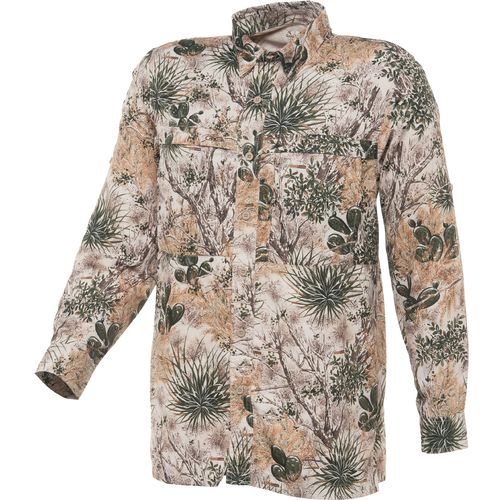 GameGuard Men's Microfiber Vented Fishing Long Sleeve Shirt