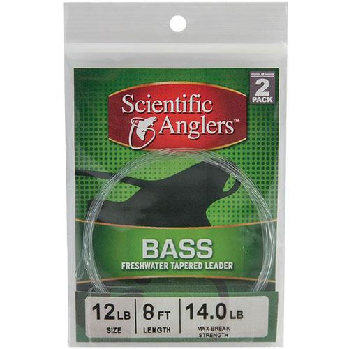 Scientific Anglers™ 9' Bass Freshwater Leaders 2-Pack