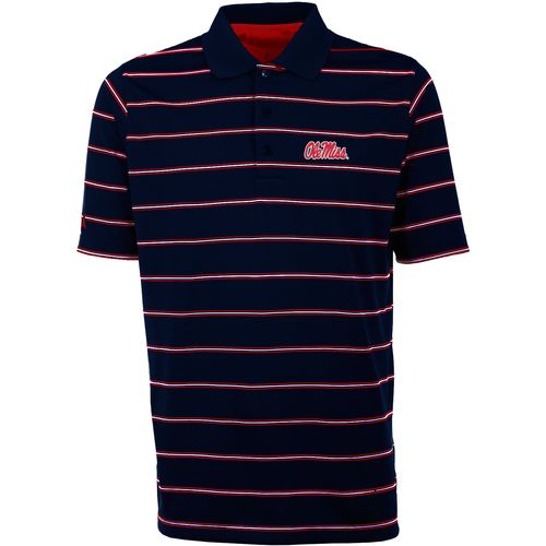 Antigua Men's University of Mississippi Deluxe Polo Shirt