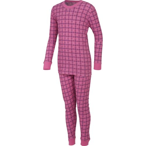 Magellan Outdoors Girls' Thermal Waffle Baselayer Set