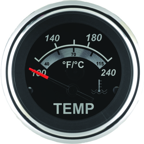 SeaStar Solutions Sterling Water Temperature Gauge - view number 1