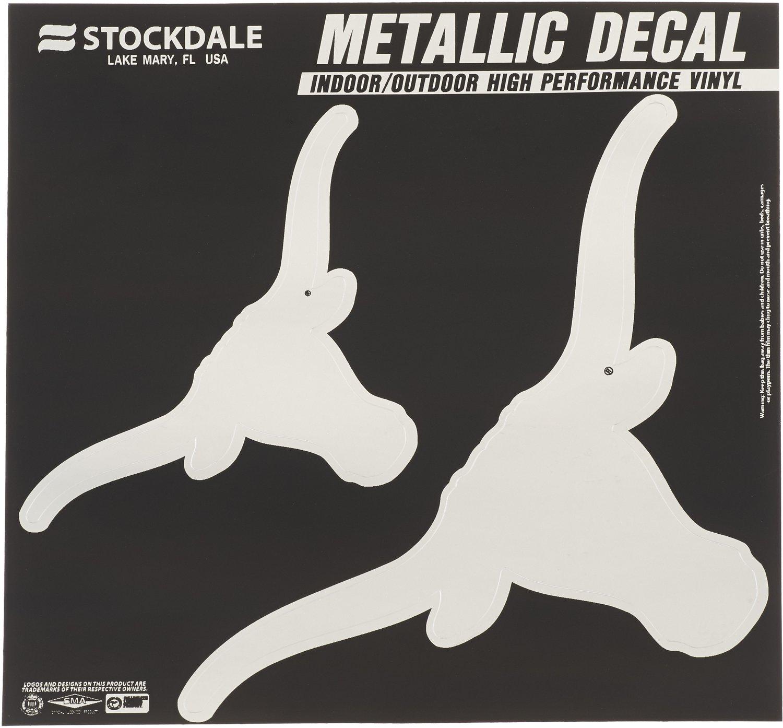 Stockdale University of Texas Metallic Decal