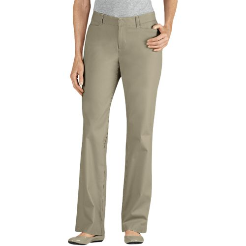 Display product reviews for Dickies Women's Curvy Fit Straight Leg Stretch Twill Pant