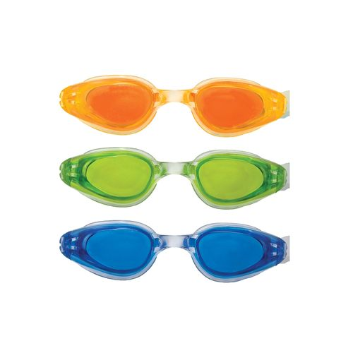 SwimWays Kids' Fish Face Tarpon Trainer Swim Goggles 3-Pack