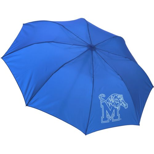 "Storm Duds University of Memphis 42"" Automatic Folding Umbrella"