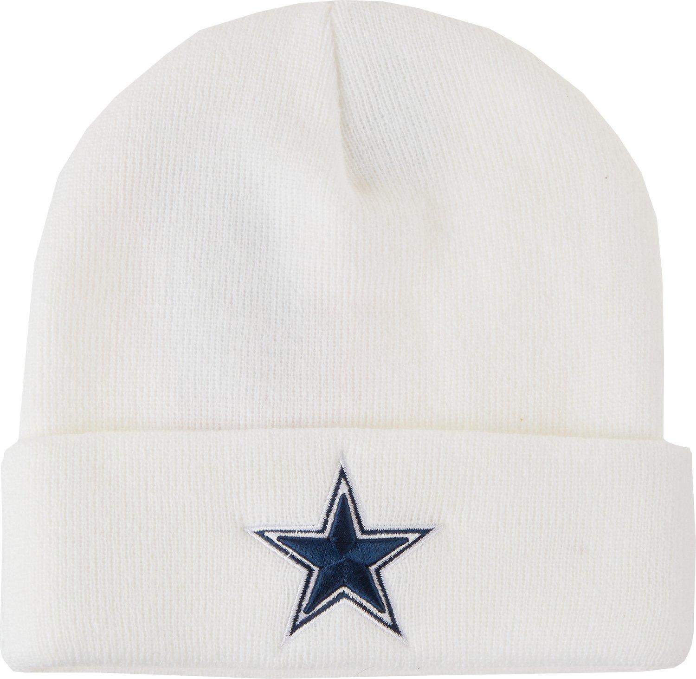 Dallas cowboys men 39 s basic knit cap academy for Dallas cowboys fishing hat