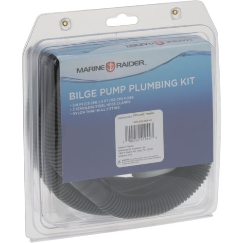 Marine Raider 3/4 in Bilge Pump Plumbing Kit - view number 2