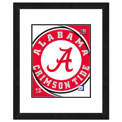 "Photo File University of Alabama 8"" x 10"" Team Logo Photo"