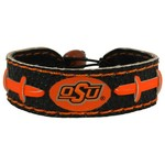 GameWear Oklahoma State University Team Color Football Bracelet