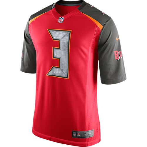 Nike Adult Tampa Bay Buccaneers Jameis Winston #3 Team Jersey - view number 2
