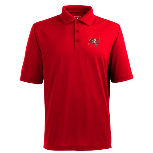 Antigua Men's Tampa Bay Buccaneers Piqué Xtra-Lite Polo Shirt - view number 1