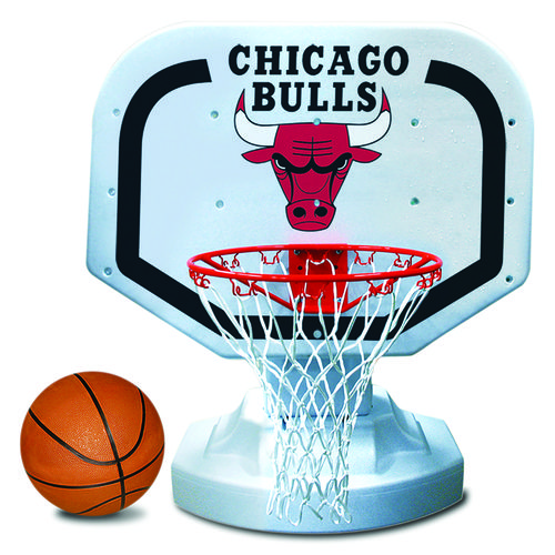 Poolmaster® Chicago Bulls Competition Style Poolside Basketball