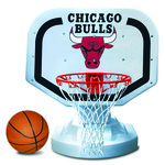 Poolmaster® Chicago Bulls Competition Style Poolside Basketball Game