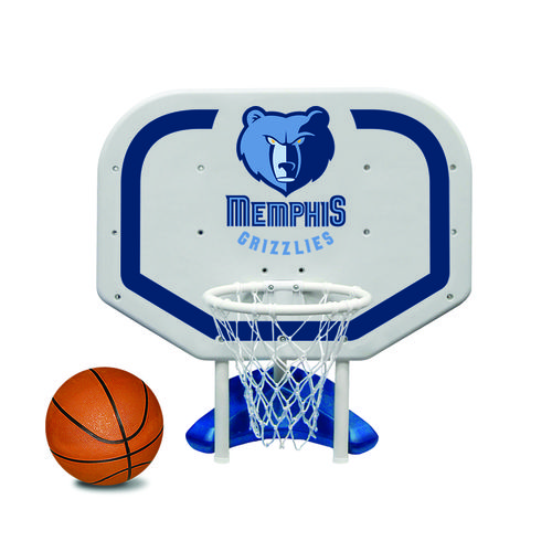 Poolmaster® Memphis Grizzlies Pro Rebounder Style Poolside Basketball Game