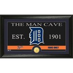 The Highland Mint Detroit Tigers Man Cave Bronze Coin Photo Mint