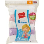 Hanes Girls' TAGLESS Comfort Soft Camis 5-Pack