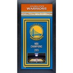 Photo File Golden State Warriors Framed NBA Championship Banner