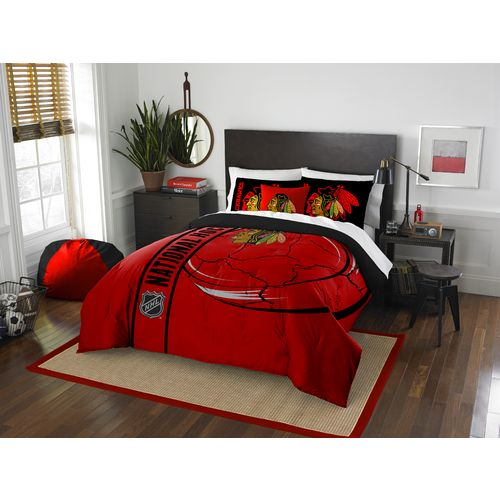 The Northwest Company Chicago Blackhawks Full Comforter and Sham Set
