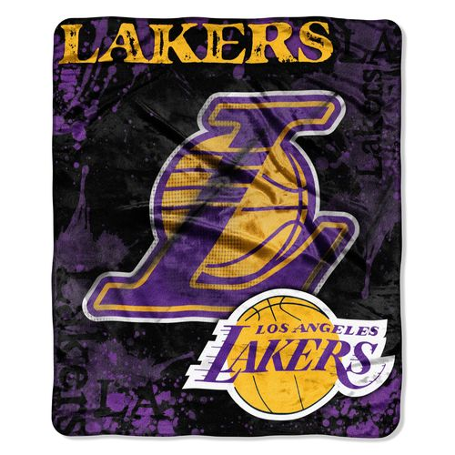 The Northwest Company Los Angeles Lakers Dropdown Raschel Throw - view number 1