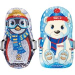 Snow Daze Polar Pals Characters Sled