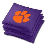 Wild Sports Clemson University Regulation Beanbags 4-Pack