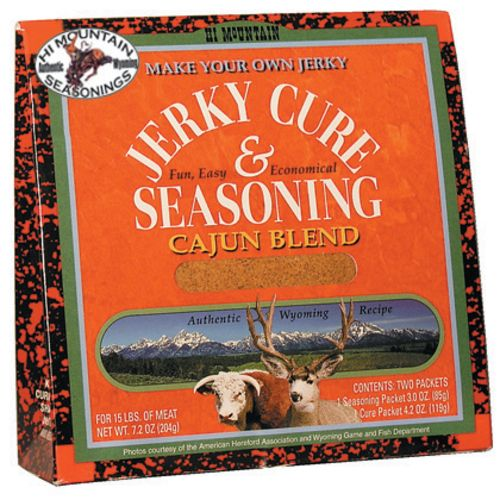 Display product reviews for Hi Mountain Jerky Cajun Blend Jerky Kit