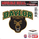 "Stockdale Baylor University 6"" x 6"" Decal"