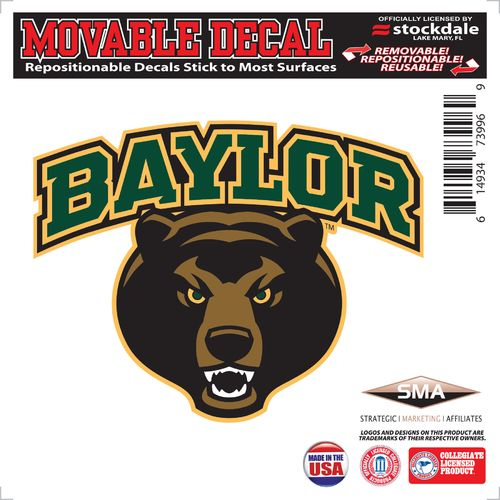 Stockdale Baylor University 6  x 6  Decal  sc 1 st  Academy Sports + Outdoors & Baylor Bears Tailgating u0026 Accessories | Academy